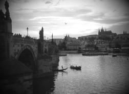 Prague moods BW
