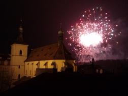 Prague new year 2014